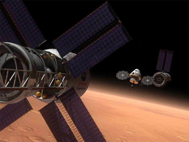 2033. Chuyến thám hiểm có người đầu tiên lên sao Hỏa - đây có lẽ là một trong những nhiệm vụ bị trì hoãn lâu nhất trong lịch sử thám hiểm vũ trụ của loài người.