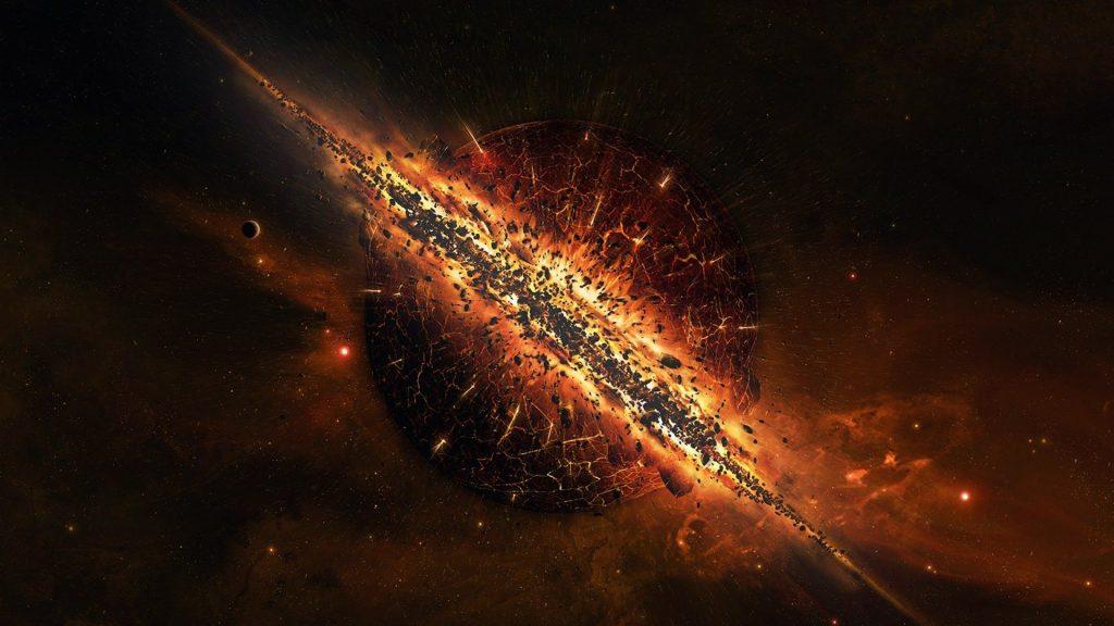 Năm 10.000.000.000.000.000.000.000.000.000.000.000.000 - Thời kỳ thoái hóa của vũ trụ. Sao Neutron, sao lùn trắng và lỗ đen là những gì còn sót lại duy nhất của  vũ trụ.
