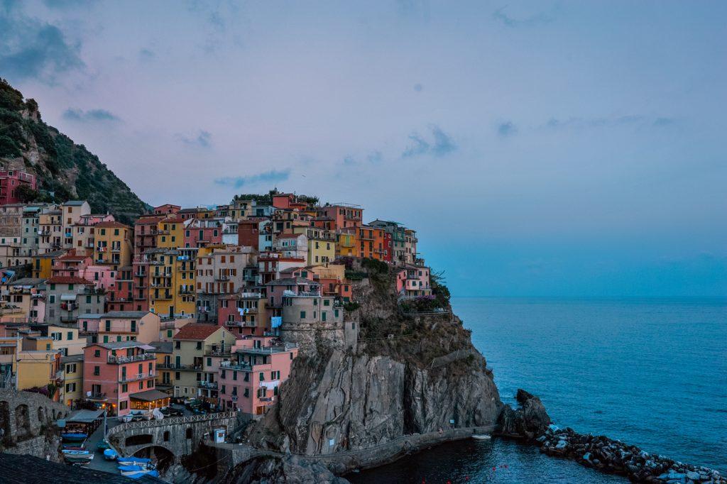 Làng Manarola, Cinque Terre, Ý. Ảnh: Anh Tú Nguyễn.