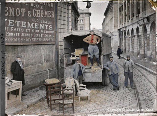 Một trong những tấm ảnh màu đầu tiên trong lịch sử của Albert Kahn.