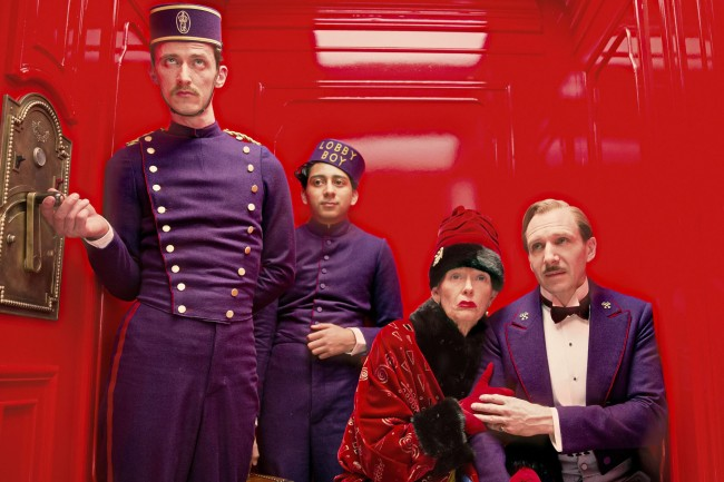 Một cảnh trong phim The Grand Budapest Hotel
