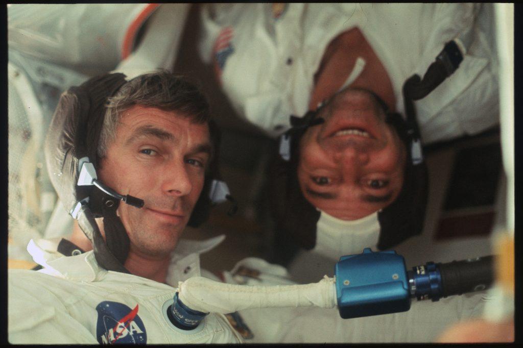 21693513481_175da2cbff_k Eugene Cernan (Left) & Harrison Schmitt (Right).