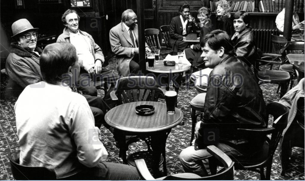 Drinker in pub 1992