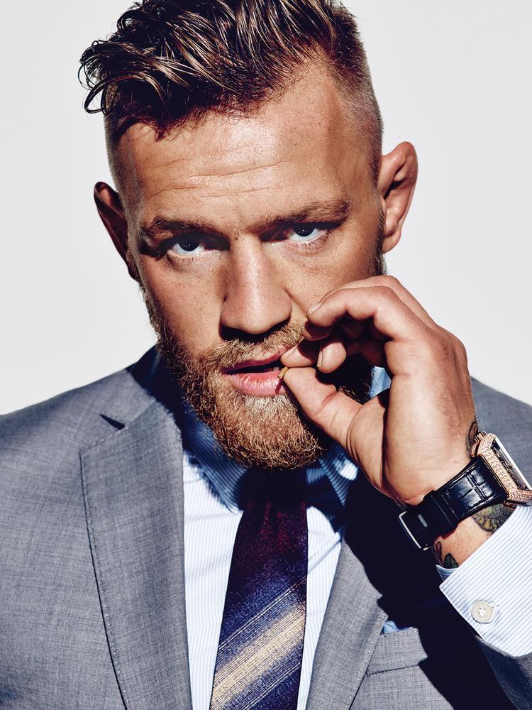 Conor McGregor trên tạp chí Wall Street Journal