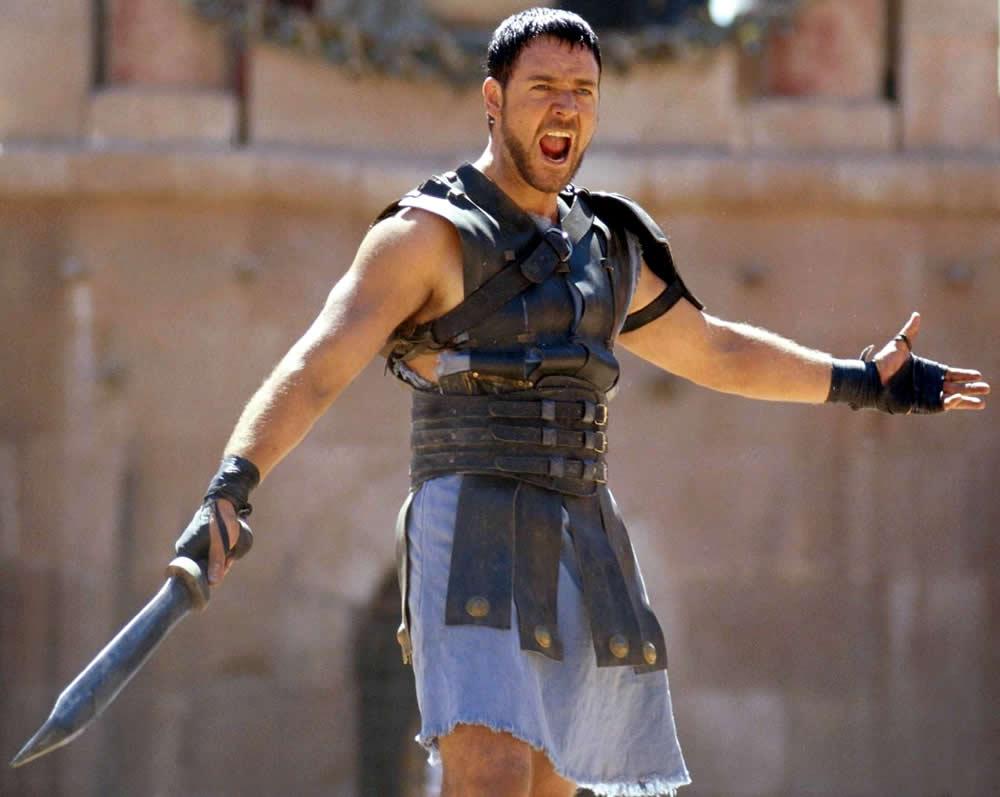 Dũng tướng Maximus là vai diễn để đời của Russell Crowe